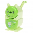 Cute Cartoon Hand-Crank Desktop Pencil Sharpener (Random Color)