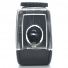 Mini 60~100X Microscope / 1-LED Illumination/Back Case for Iphone 4/4S - Black (3 x LR1130)