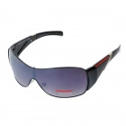 Stylish UV 400 Protection Resin Lens Sunglasses - Black