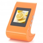 "1.5"" TFT USB Rechargeable Digital LCD Photo Frame - Orange (128 x 128)"
