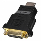Gold Plated DVI 24+1 Female to HDMI Male Adapter