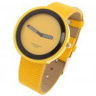 Simple Watch Fashion Quartz Wrist Watch - Yellow (1 x LR626)