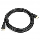 Gold Plated HDMI V1.4 Male to Male Connection Cable - Black (5m)
