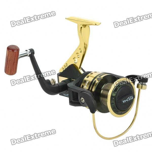 Professional Fishing Coiling Reel Set - Coppery and Black - Fishing Gear - Sports and Outdoors