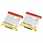 Replacement 3.7V 1850mAh Batteries for HTC EVO 3D (Pair)