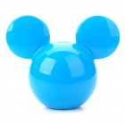 Cute Mickey Shaped Car/Home Perfume Air Freshener - Blue (Random Scent)