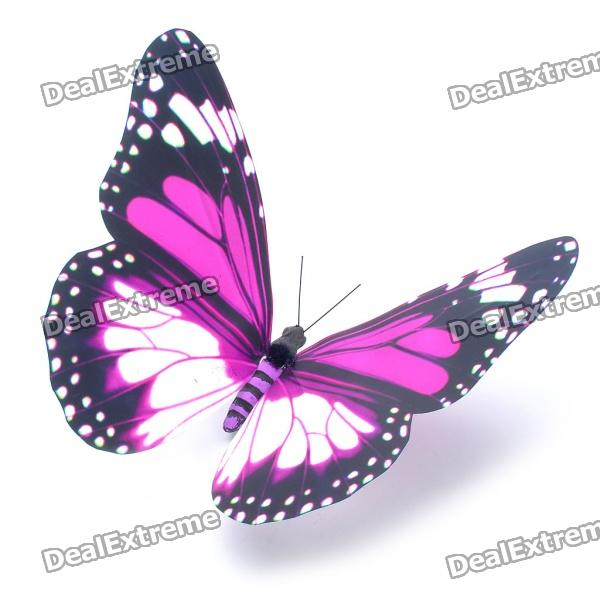 Beautiful Magnetic Decoration PVC Butterfly (Random Style)