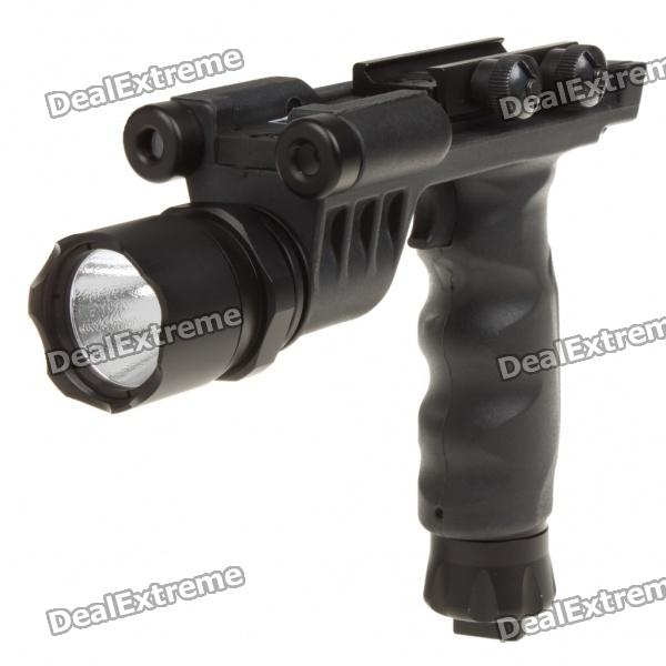 21mm Tactical Grip + LED White Lighting System/Green Laser Sight (3 x CR123A) calimera кровать машина без матраса turbo pink calimera