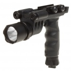21mm Tactical Grip + LED White Lighting System/Green Laser Sight (3 x CR123A)