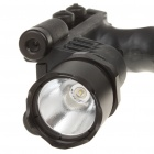 21mm Tactical Grip w/230LM Cree Q5 + LED White Lighting System/Green Laser Sight (3 x CR123A)