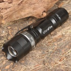 UltraFire Cree Q4-WC 3-Mode 160LM Convex Lens White LED Flashlight w/ Clip/Carrying Strap (1 x AA)