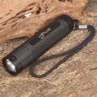 POP F4 Waterproof 3-Mode 180LM White LED Diving Flashlight (70m-Depth/4 x AAA)