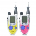 "1.5"" LCD Game Console Walkie-Talkie Set (4 x AAA/Pair)"