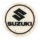 Auto Car Logo Badge 18-LED White Background Licht Sticker für Suzuki (DC 12V)
