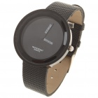 Simple Watch Fashion Quartz Wrist Watch - Black (1 x LR626)