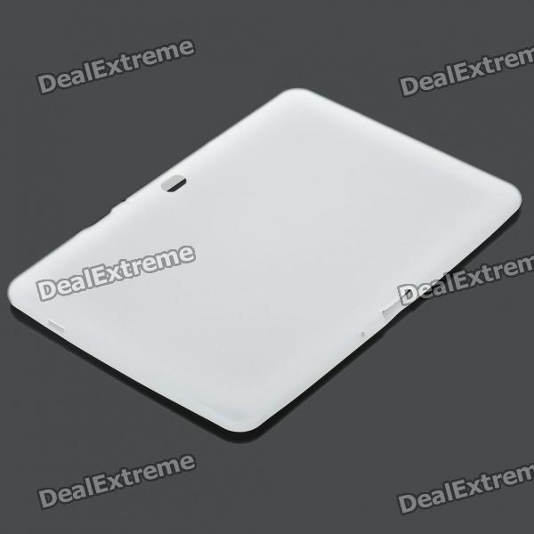 Ultra-Thin Protective Silicone Back Case for Samsung Galaxy Tab 10.1 P/7500/P7510 - White