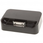 USB Powered Charging Dock/Cradle for iPhone 4/4GS - Black
