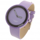 Simple Watch Fashion Quartz Wrist Watch - Purple (1 x LR626)