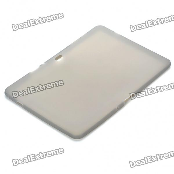 Ultra-Thin Protective Silicone Back Case for Samsung Galaxy Tab 10.1 P/7500/P7510 - Grey