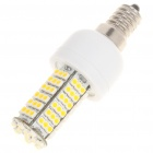 E14 6W 3500K 410-Lumen 102-3528 SMD LED Warm White Light Bulb (AC 85~265V)