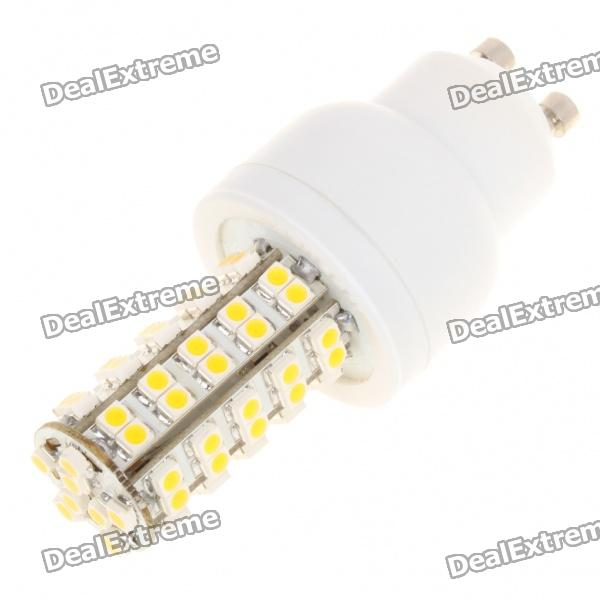 GU10 4W 3500K 275-Lumen 68-3528 SMD LED Warm White Light Bulb (AC 85~265V)