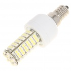 E14 6W 6500K 410-Lumen 102-3528 SMD LED White Light Bulb (AC 85~265V)
