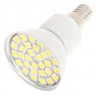 E14 5.5W 6500K 360-Lumen 30-5050 SMD LED White Light Bulb (AC 85~265V)