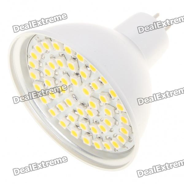 MR16 3.5W 3500K 195-Lumen 48-3528 SMD LED Warm White Light Bulb (DC 12V) гирлянда luazon дождь 2m 6m blue 706350