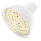 MR16 3.5W 3500K 195-Lumen 48-3528 SMD LED Warm White Light Bulb (DC 12V)