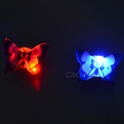 Butterfly LED Flashing Magnetic Badge (25-Pack)