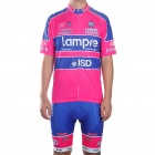 2011 Lampre Team Short Sleeve Cycling Bicycle Bike Riding Suit Jersey + Shorts Set (Size-XL)