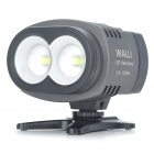 WALLI 20W 5600K 2000-Lumen 2-Cree XML U2 LED White Light Video Lamp for Camera/Camcorder