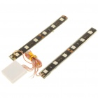 Dual Multicolored Flashing 6-LED Strips (DC 12V)