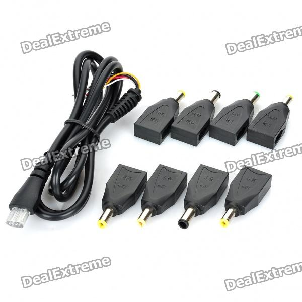 Replacement Power Cable with Adapters for Laptops