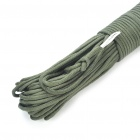 Military Survival Paracord Nylon Rope Cord - Army Green (30m)