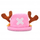 Lovely Tony Tony Chopper Cosplay Cap Hat - Pink + Brown