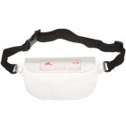 Waterproof Waist Bag with Belt for Cell Phone/MP3/MP4 - Transparent White