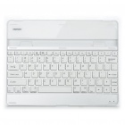 Stylish Rechargeable Bluetooth V2.0 82-Key Keyboard with Back Body Protector Film for Ipad 2