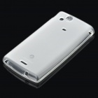 NILLKIN Protective TPU Back Case w/ Screen Protector for Sony Ericsson Xperia Arc X12 - Matte White