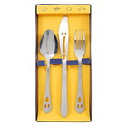 Happy-Everyday Fork Knife and Spoon Tableware (Stainless Steel)