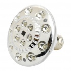 Sound/Light Activated Rechargeable E27 3W 5500K 100LM 15-LED White Light Emergency Bulb (AC 85~265V)