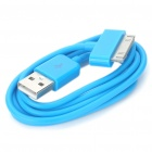 USB Data/Charging Cable for iPad/iPhone/iPod - Blue (90cm-Length)