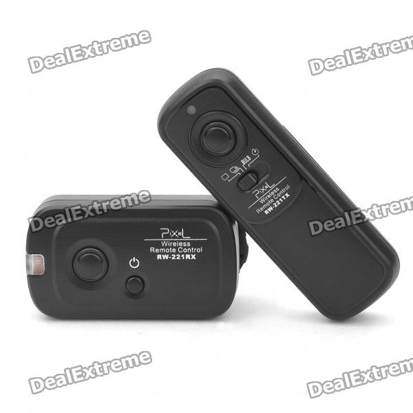 FSK 2.4GHz 16-Channel Wireless Shutter Release Remote Control for Canon 7D/5D/1D/50D (2xAAA/2xAAA) 0 9 lcd wired remote shutter release for canon eos1v 1d mark ii 1d 5d 5d mark ii 7d