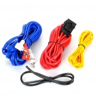 Professional Speaker RCA Cable Amplifier Installation Wiring Kit for Car