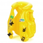 Swimming Aid Inflatable Vest - Yellow (Size S)