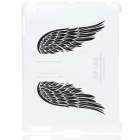 Charming Angel Wings Stand Back Case for iPad 2 - White