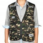 Outdoor Fishing/Photography Vest - Camouflage