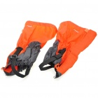 Outdoor Snow Protection Leg Cover Guard - Orange