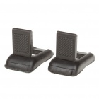 Mini Heat-Sink Cooling Stand Holders Set - Black (Pair)