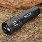 EDI-T-P13 CREE Q3 3-Mode 180LM Convex Lens White LED Flashlight (3 x AAA)